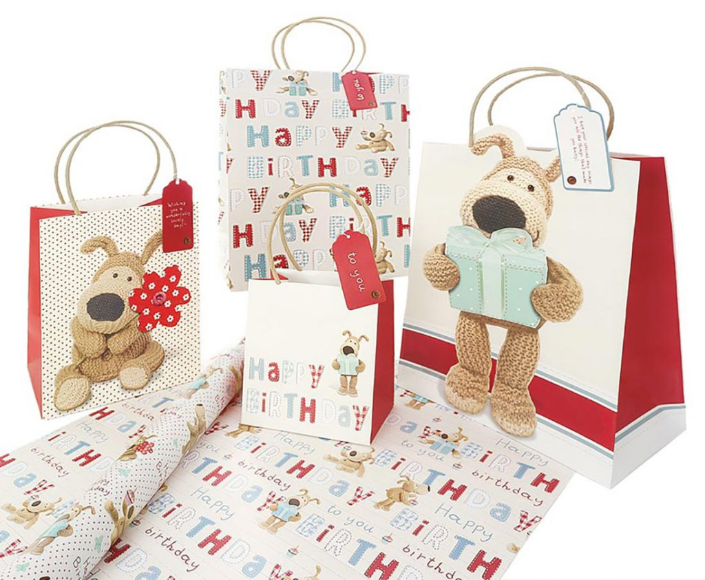 Boofle gift bags