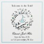 personalised baby card
