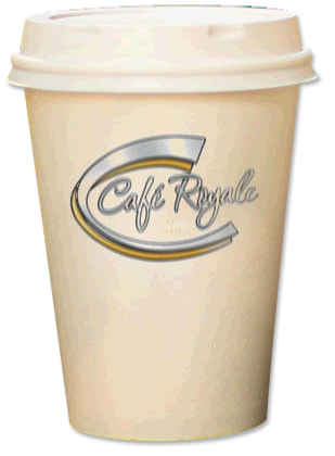 cafe royale takeaway coffee cup